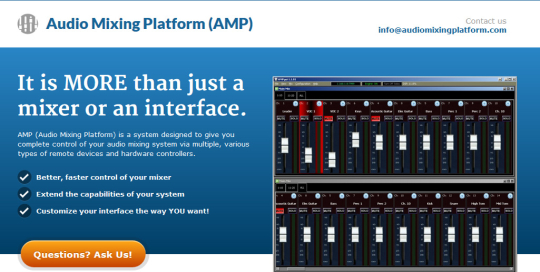 Audio Mixing Platform